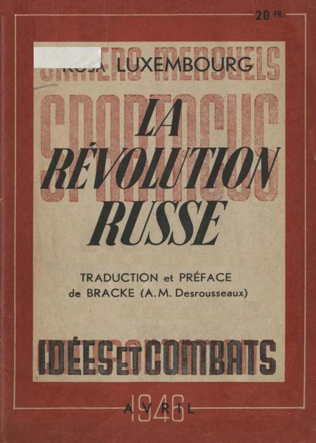 Luxemburg - La Révolution russe 1946-1