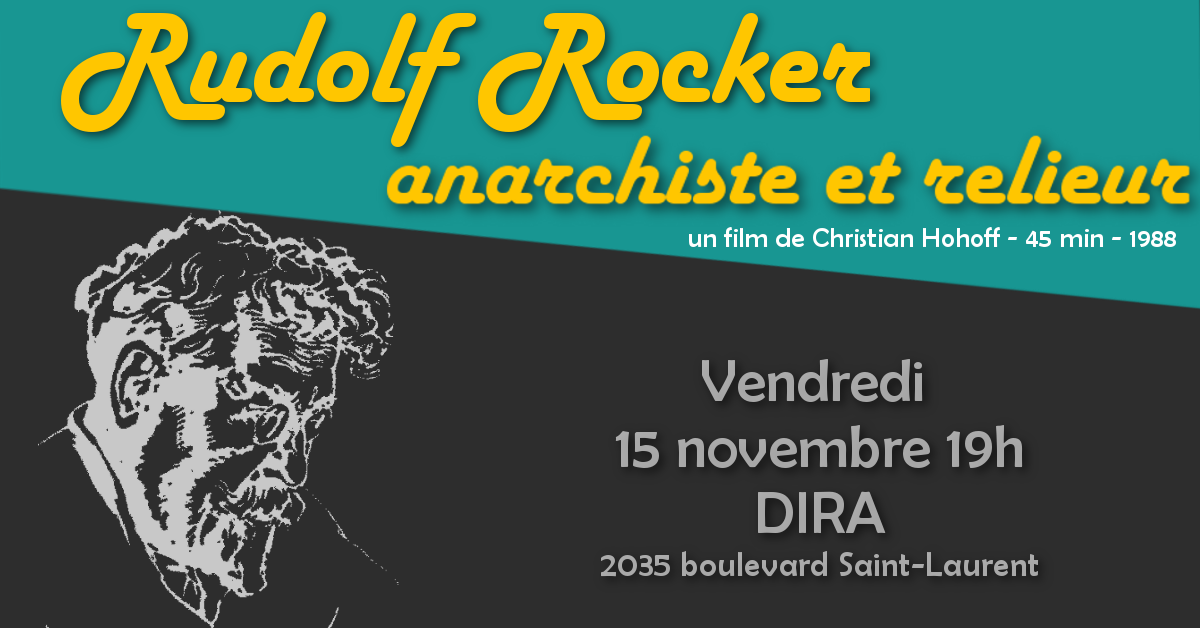 affiche rudolf rocker_banner_DIRA